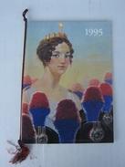 CALENDARIO STORICO ARMA CARABINIERI - ANNO 1995 (COMPLETO CORDONCINO E PALLINE) - LEGGI - Calendari