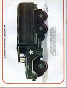 Modélisme AUTOMOBILE MILITAIRE  CAMION AMERICAIN 6X6 M 34 TRUCK JEEP - Unclassified