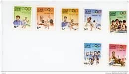 Guinée Bissau-1983-Cyclisme,escrime,JO Los Angeles-YT 208/14***MNH-Valeur 7 Euro - Sommer 1984: Los Angeles