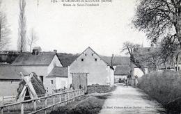 St-Georges De La Couée. Route De Saint-Frimbault. - Autres Communes