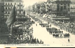 75e Anniversaire De L'Indépendance. Defilé Des Ecoles - 2 Juileet 1905 - N. 5. Lagaert (1920) - Fêtes, événements