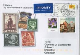 Ganzsache Gs Sankt Johannes Behinderte Werk Krokus Tag Der Briefmarke - BRD