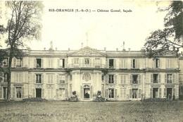 Ris Orangis. La Facade Du Chateau Gomel . - Ris Orangis