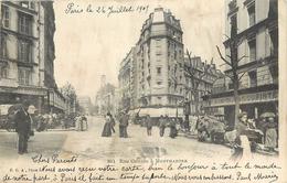 PARIS - Rue Custine à Montmartre. - Distretto: 18