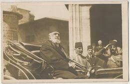 Set Of 3 Real Photo Sultan Abdulmecid II Last  Ottoman Caliph Dead In Paris Burried In Mecca Makkah Saudi Arabia - Turkije