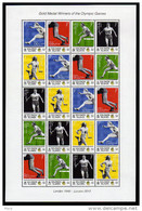 Solomon Kleinbogen/Minisheet Mnh Olympic Games Goldmedal Winner Fanny Blankers-Koen.