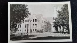 CPA Carte Photo,  Cross Memorial Tower, Religeous Education, BLDG Fayette Missouri - Etats-Unis