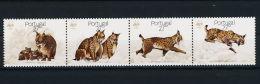 (WWF-060) W.W.F. Portugal Iberian Lynx MNH Stamps 1988 - W.W.F.