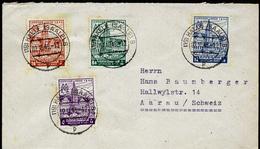 A4361) SBZ West-Sachsen Brief Von Halle 2.10.46 Mit Mi.162-165A - Sowjetische Zone (SBZ)
