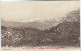 Corse Du Sud : Morosaglia, Vue Sur Gavignano - France
