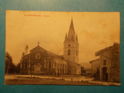 Carte Postale - VILLEREVERSURE (01) - L'Eglise (1481/1000) - Autres Communes