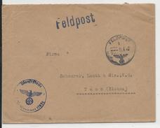 1941 - ENVELOPPE FELDPOST Pour THANN (ALSACE) - Deutschland