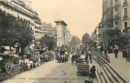 PARIS      BOULEVARD  BONNE NOUVELLE    TRAMWAY HIPPOMOBILE - Arrondissement: 10