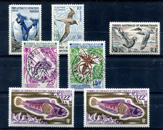Lot 7 Timbres TAAF Neufs Et Oblitérés (voir Détail) - T 480 - Colecciones & Series