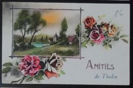 Thulin Carte Fantaisie Amitiés - Hensies