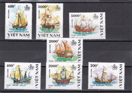 Vietnam Nº 1183 Al 1189 Un Sello Esquina Rota - Viêt-Nam