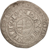France, Jean II Le Bon, Gros Blanc à La Couronne, TB+, Billon, Duplessy:303 - 987-1789 Royal