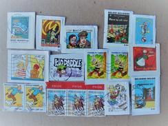 Timbres BD Bédé Tintin Asterix Blake Mortimer Lucky Luke Kid Paddle ... - Timbres