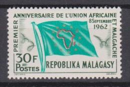 Madagascar, Malgache, Malagasy, 1962, UAM, Flag, MNH, *** - Postzegels