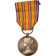 France, Ministère De L'Intérieur, Sapeurs-Pompiers, Medal, Non Circulé - Army & War