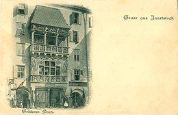 Cpa Gruss Aus INNSBRUCK - Goldenes Dach - Innsbruck