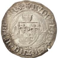 France, Louis XI, Blanc à La Couronne, Châlons-en-Champagne, TTB, Duplessy:550C - 1461-1483 Louis XI Le Prudent