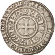 France, Charles VI, Gros Aux Lis Sous Une Couronne, Tournai, TTB, Duplessy:384 - 987-1789 Monnaies Royales