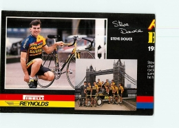 Steve DOUCE, Raleigh Banana 1988 . Attention : Bien Lire Le Descriptif ! 2 Scans. Cyclisme. En L'état - Ciclismo