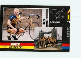 Dave RAYNER , Raleigh Banana 1988 . Attention : Bien Lire Le Descriptif ! 2 Scans. Cyclisme. En L'état - Ciclismo