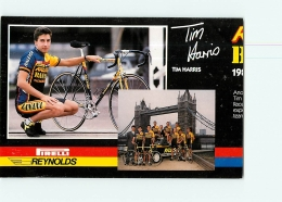 Tim HARRIS  , Raleigh Banana 1988 . Attention : Bien Lire Le Descriptif ! 2 Scans. Cyclisme. En L'état - Ciclismo