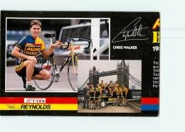 Chris WALKER , Raleigh Banana 1988 . Attention : Bien Lire Le Descriptif ! 2 Scans. Cyclisme. En L'état - Ciclismo