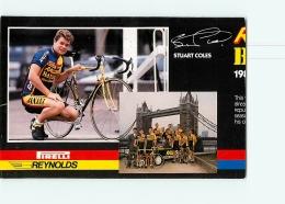 Stuart COLES , Raleigh Banana 1988 . Attention : Bien Lire Le Descriptif ! 2 Scans. Cyclisme. En L'état - Ciclismo
