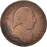 Grande-Bretagne, Jeton, Trades, John Wilkinson Iron Master, 1791, TB, Cuivre - United Kingdom