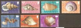 Bermuda 2002 Shells Part Set Fine Used - Bermuda