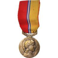France, Syndicat Général Du Commerce De L'Industrie, Medal, 1958, Etat Moyen - Militari