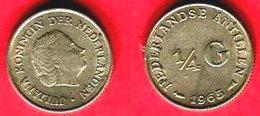 1:4 GULDEN     ( KM 5 ) TB+  4 - Antille Olandesi