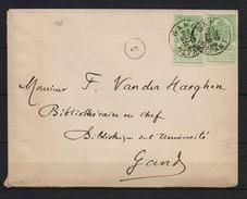 56 X 2 OP BRIEF 1899 H 10K12 - 1893-1907 Armoiries