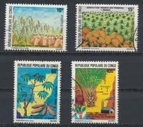 °°° REPUBBLICA DEL CONGO - Y&T N°722/25 - 1984 °°° - Congo - Brazzaville