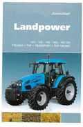 FICHE PUB TRACTEUR LANDPOWER LANDINI - Agriculture