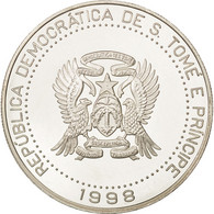 SAINT THOMAS & PRINCE ISLAND, 2000 Dobras, 1998, Argent, KM:86 - Sao Tome Et Principe