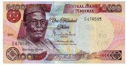 NIGERIA 100 NAIRA 2011 Pick 28k Unc - Nigeria