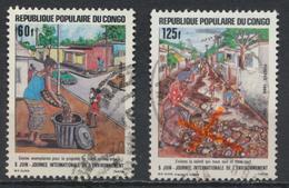 °°° REPUBBLICA DEL CONGO - Y&T N°774/75 - 1986 °°° - Congo - Brazzaville
