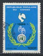 °°° REPUBBLICA DEL CONGO - Y&T N°783 - 1986 °°° - Congo - Brazzaville