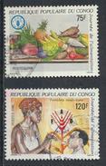 °°° REPUBBLICA DEL CONGO - Y&T N°787/88 - 1986 °°° - Congo - Brazzaville