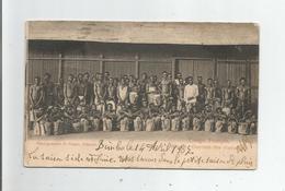 CONGO FRANCAIS 29 OUVRIERS DES PLANTATIONS 1907 - Französisch-Kongo - Sonstige
