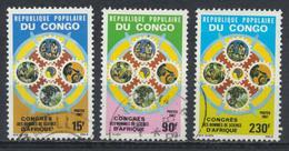 °°° REPUBBLICA POPOLARE DEL CONGO - Y&T N°803/5 - 1987 °°° - Congo - Brazzaville