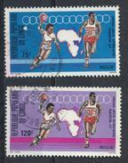°°° REPUBBLICA DEL CONGO - Y&T N°807/8 - 1987 °°° - Congo - Brazzaville