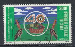 °°° REPUBBLICA DEL CONGO - Y&T N°816 - 1987 °°° - Congo - Brazzaville