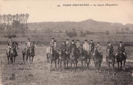 Passy-Froyennes - La Leçon D'Equitation (top Animation, Chevaux) - Tournai