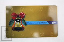 Collectible Christmas Topic Phone Card - Andorra 2001 - Navidad